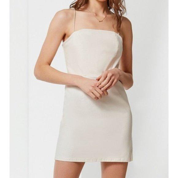UO Colette Linen Mini Dress